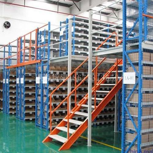 钢结构阁楼货架